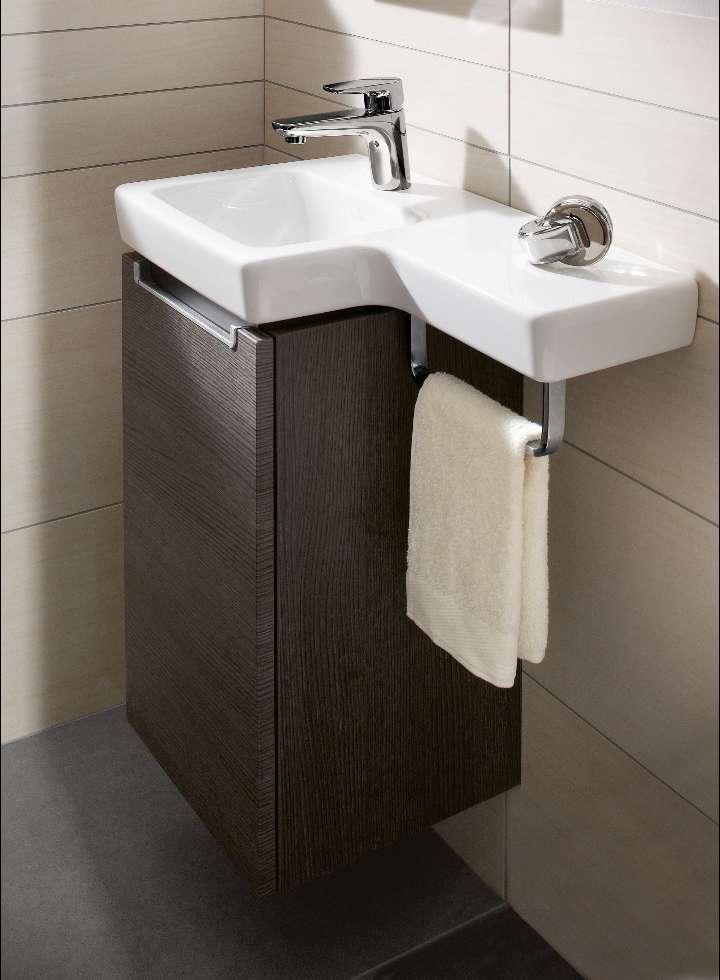 Muebles de ba o modernos ideales para espacios peque os - Armarios pequenos para banos ...