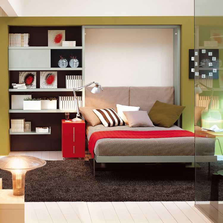 Muebles para ahorrar espacio cama y escritorio ulisse - Muebles ahorra espacio ...