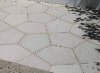 Mosaico Exterior de Cemento