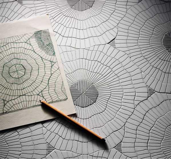 mosaicos originales con grabados