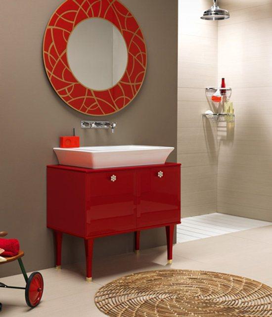 Muebles de ba o de estilo vintage for Muebles de estilo vintage