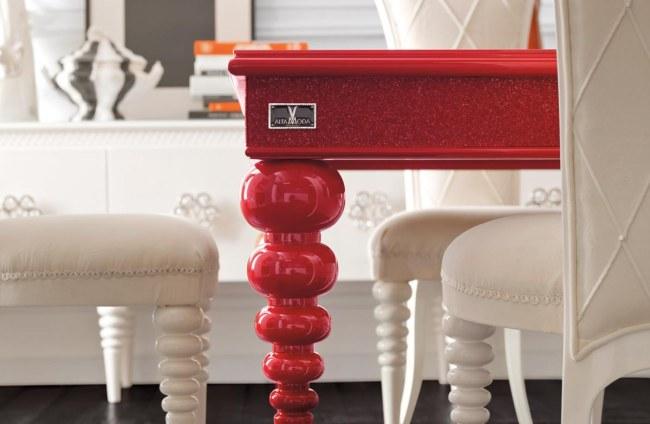 coloridos muebles de comedor de dise o chic de altamoda. Black Bedroom Furniture Sets. Home Design Ideas