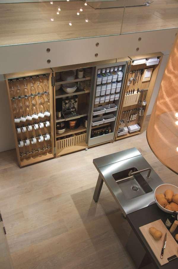 Pr cticos muebles de cocina bulthaup for Muebles de cocina independientes