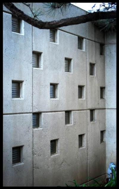 bloques de pavés en una pared