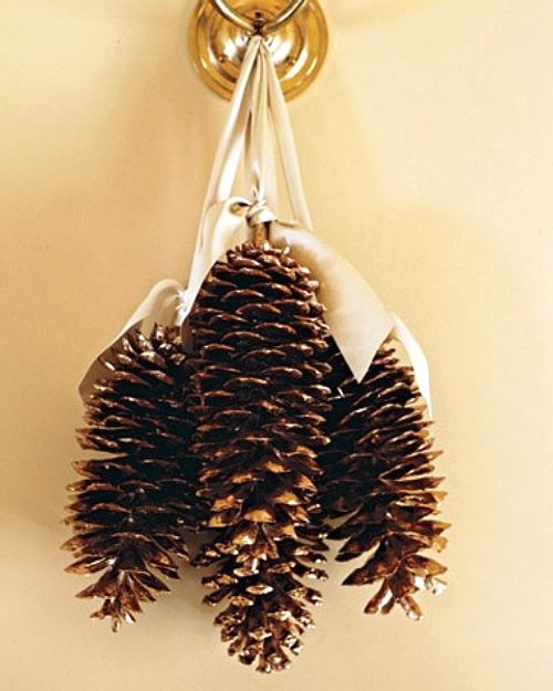 Simples adornos para navidad con pi as - Adornos de navidad con pinas ...