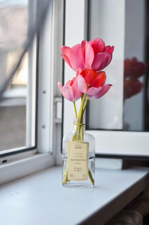 reciclar botellas como floreros