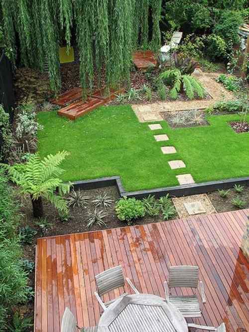 C mo hacer un sendero en el jard n de casa for Armado de jardines