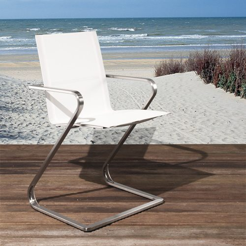 silla para exterior e interior