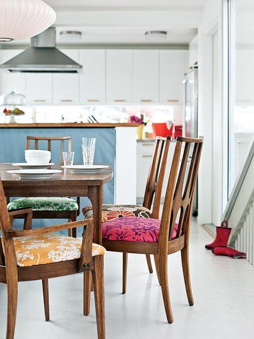 Simple idea para renovar los muebles del comedor - Muebles del comedor ...