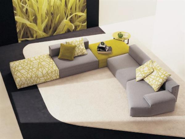 sofa mah jong roche bobois precio looking for sofas jong, un sofá modular y a ras de suelo