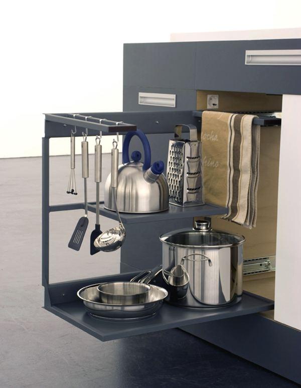 Soluciones para cocinas peque as cocina compacta y modular - Soluciones cocinas pequenas ...