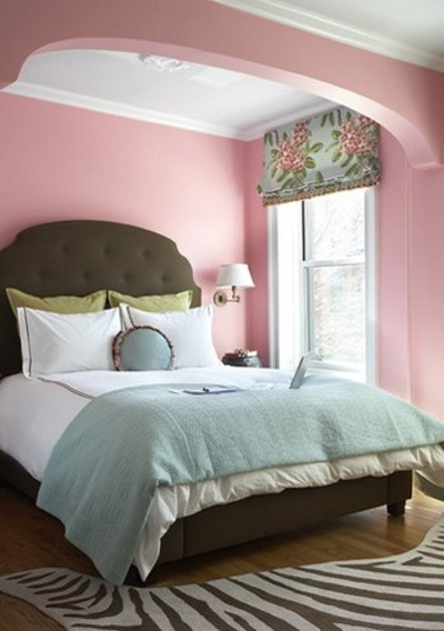 paredes con pintura de colores