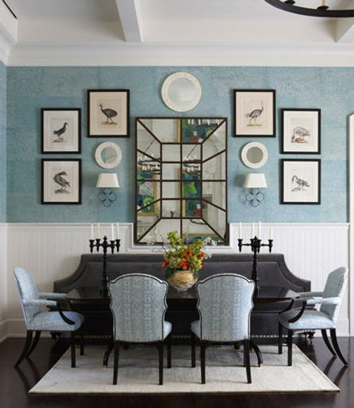 Tips tiles para colgar cuadros parte 2 for Dining room y sus partes