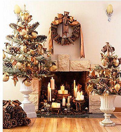 Tips decoraci n navidad ideas para decorar chimeneas for Ideas para decorar en navidad