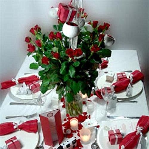 Ideas mesas de navidad y de a o nuevo - Decorar mesas navidenas ...