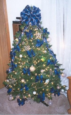 Tips Decoracion De Navidad Lazos Para Decorar El Arbol De Navidad - Decoracion-de-arboles-de-navidad