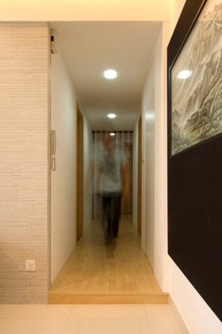 Tips tiles iluminaci n de pasillos corredores y - Iluminacion de pasillos ...