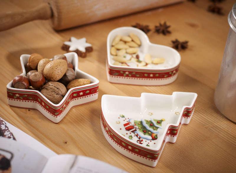 Decora tu mesa de navidad con encanto for Vajillas para navidad