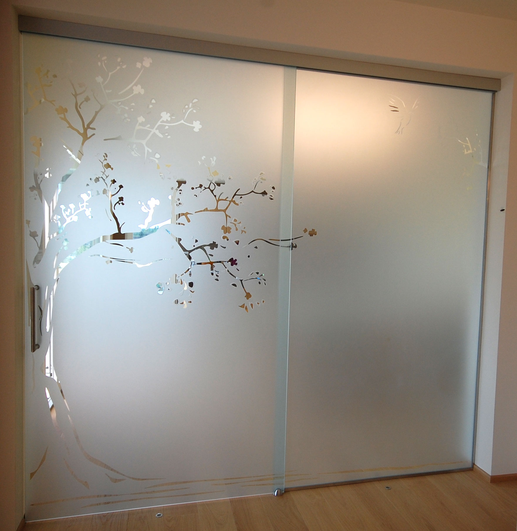 porte in vetro  casa passiva alberto berardi