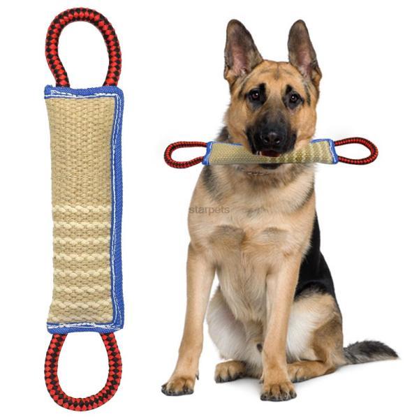 Churro com Juta para treino de  cão 1