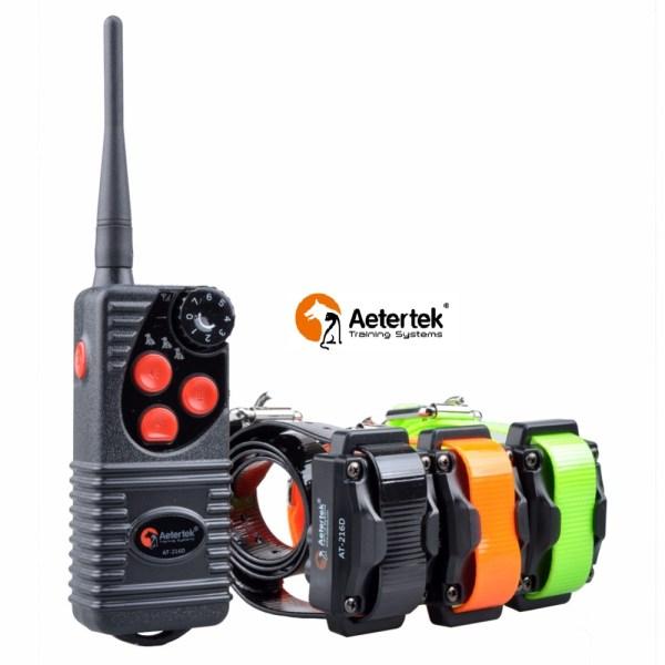 Coleira de Adestramento para cães, muito utilizada para cães de caça, devido a ser um aparelho muito resistênte, impremiável, alcance de 600m, função Sinal Sonoro/Vibração/ choque.