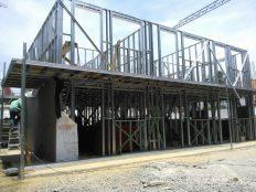 Estructuras para casas prefabricadas