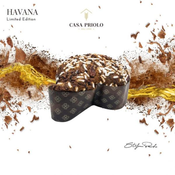 colomba havana al profumo di tabacco con cioccolato al rum
