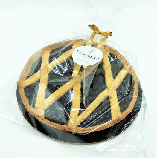 Crostata di confettura o cioccolata spalmabile artigianale