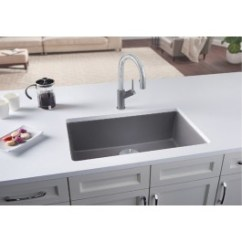 Kitchen Sink White Aid Hand Held Mixer Casa Reno Direct Blanco Single Precis U Super Collection Granite Composite In Silgranit 26 13