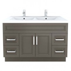 Cutler Kitchen And Bath Vanity Cabinet With Glass Doors Casa Reno Direct Urban 48 In X 22 Contemporary Bathroom
