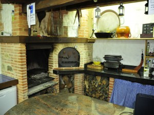Casa rural Spa la Chirumba barbacoa