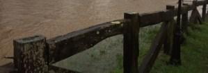 Desbordamiento rio gueña cangas de onis