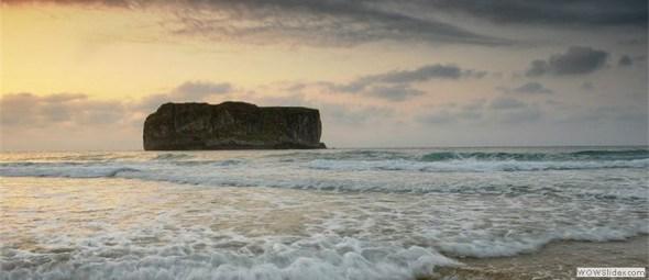 Playa de Andrín ... única en belleza