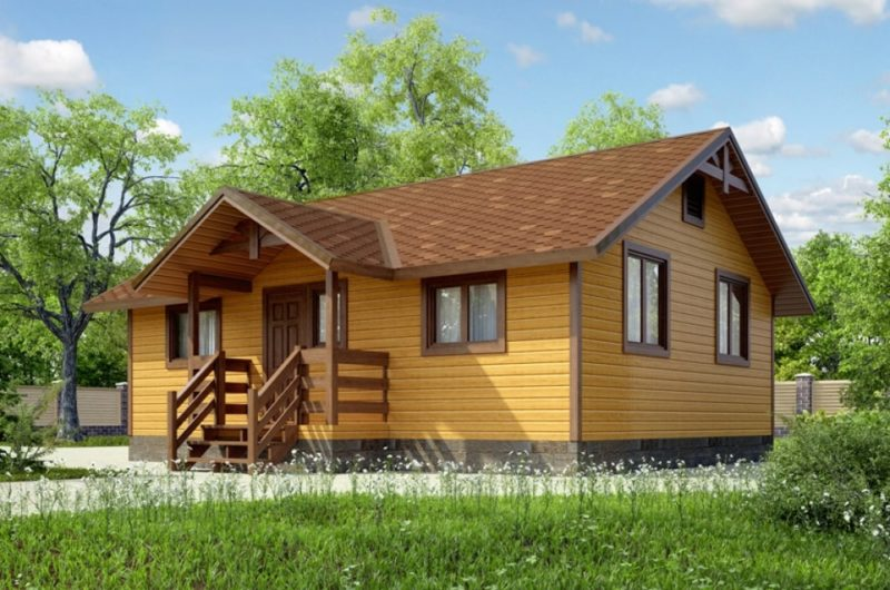 Casa de madera de calidad