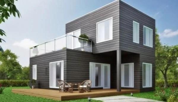 Casa prefabricada moderna