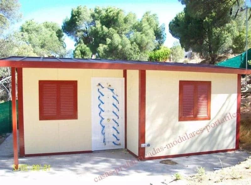 Casa prefabricada sobre losa de hormig n 633 390 965 - Opiniones sobre casas prefabricadas ...