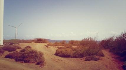 Acceso a Playa El Burrero Casa Salinero
