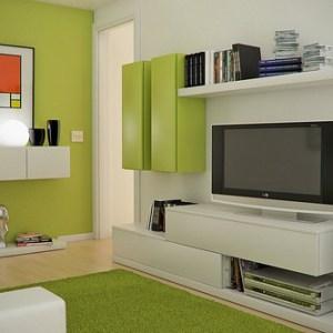 decoracion de interiores casas pequenas color chocolate 1 Casas Móviles de madera
