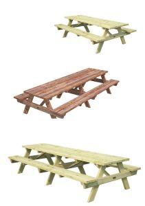 mesa madera picnic ruby
