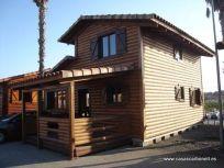 Las casas de madera, las viviendas habituales de los países nórdicos