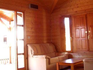 La confortabilidad de una casa de madera de Casas Carbonell