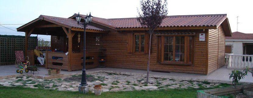 Casas de verano de madera modulares Silvana 3L de Casas Carbonell