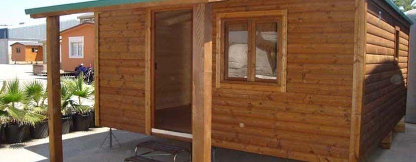Casa de madera móvil CCR de Casas Carbonell