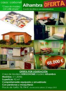 Ofertas en casas prefabricadas de Casas Carbonell