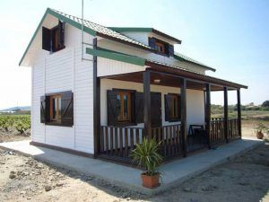 Casa de madera Piscis de Casas Carbonell