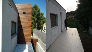 Amplia tu casa de madera en obra por Casas Carbonell