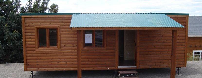 casa de madera a precio barato CCR28 de Casas Carbonell