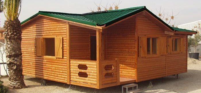 Casa de madera prefabricadas sin cimentación