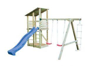 Parques de madera para niños en Casas Carbonell