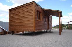 casa de madera económica CCR28 Casas Carbonell